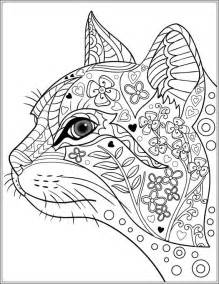 629 colouring cats dogs zentangles images