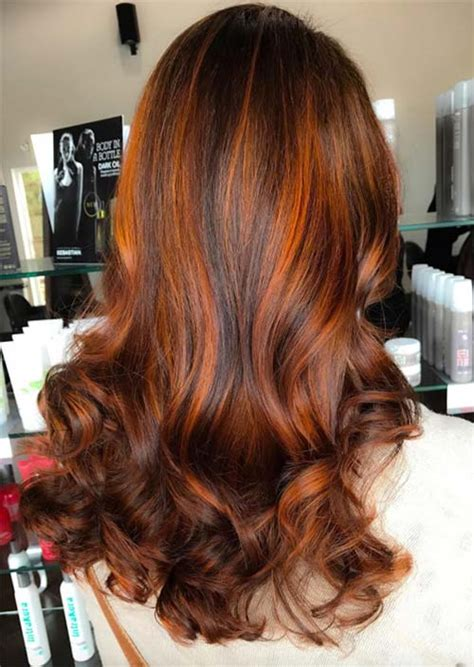 ginger hair color at home hair colors brown with highlights brown hairs