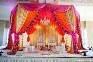 Colorful Drapes Fabulous Indian Wedding By Jason Groupp Photography