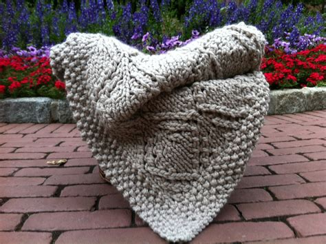 knit blanket knitted afghan large throw
