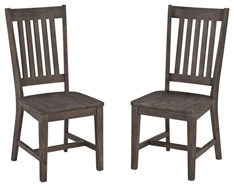 Transitional Dining Chairs Concrete Chic Dining Chairs Set Of 2 Transitional Outdoor Dining Chairs By Home Styles