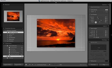 Lightroom Tutorial Lesson 4 Wired Lightroom Slideshow Templates Free