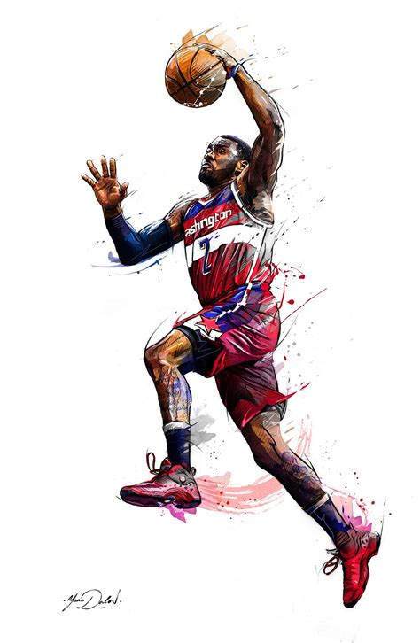 Kaos Basket Original Enterbay my work of painting and illustrations for the brand enterbay and the nba sports