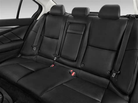 image 2015 infiniti q50 4 door sedan sport rwd rear seats
