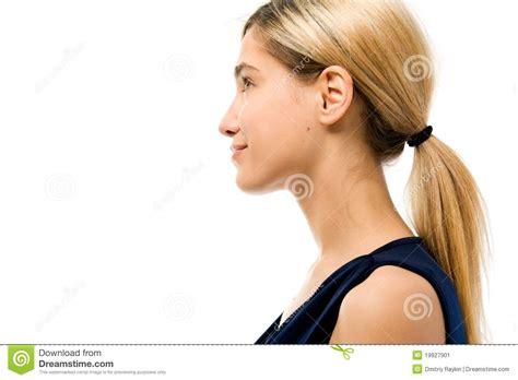 imagenes para perfil mujeres perfil cara de la mujer sin el cosm 233 tico imagen de