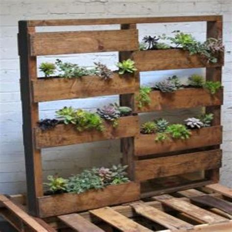 Pallet Planters For Sale twenty planter wood pallet w steel salvage