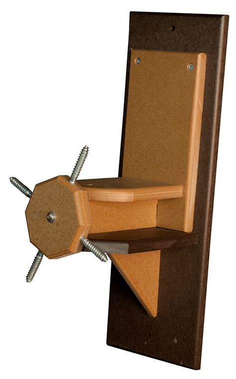 Spinning Squirrel Feeder spinning squirrel feeder poly wood solid color uv resistant
