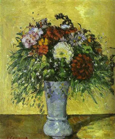 Paul Cezanne The Blue Vase by Cezanne Paintings Paintings By Paul Cezanne