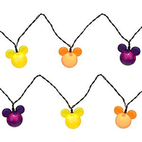 Halloween Clothing Trick Or Treat Mickey Mouse String Lights