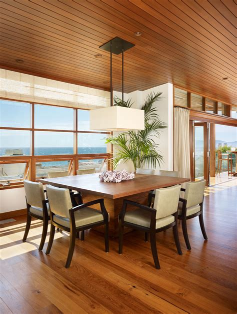 sumptuous square dining table   tropical dining room