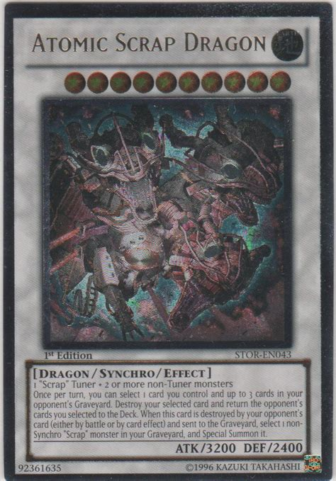 Kartu Yugioh Atomic Scrap Ultra realgoodeal atomic scrap stor en043 ultimate 1st edition yu gi oh