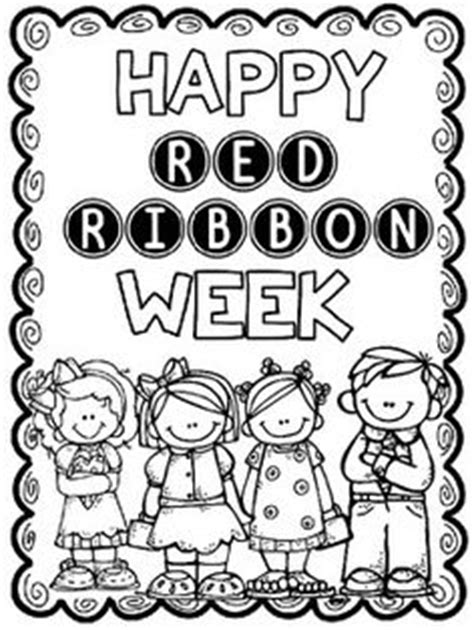 coloring pages for red ribbon week 1000 ideas about red ribbon week on pinterest red