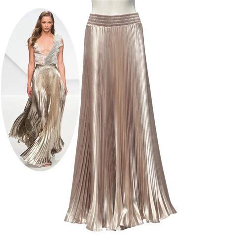 get cheap gold maxi skirt aliexpress alibaba