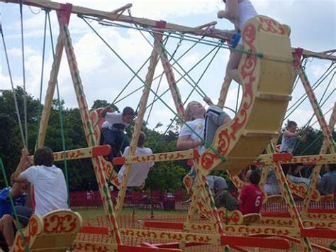 swing for ire swing boats hire funfair fairground rides hire 07789