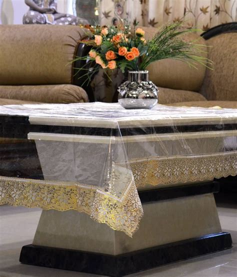 dining table cover transparent dining table cover transparent 6 seater