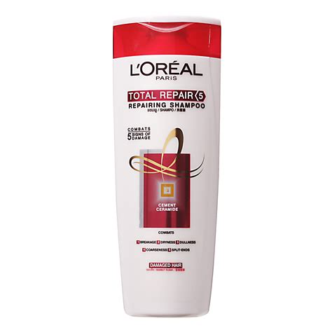 Shoo Loreal Total Repair by L Oreal Total Repair 5 Repairing Shoo 0 53 From Redmart