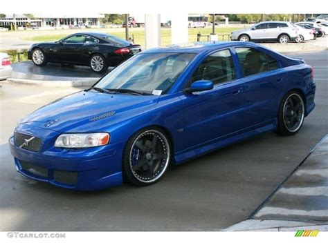 volvo s60 blue 2006 r sonic blue metallic volvo s60 r awd 40756637 photo