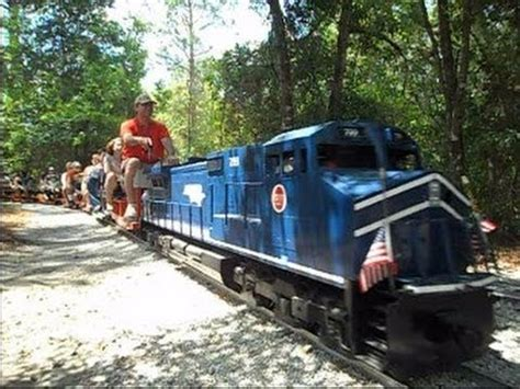 backyard trains you can ride central pasco gulf railroad model trains you can ride on