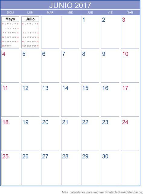 Calendario Junio Calendario Junio 2017 Related Keywords Calendario Junio