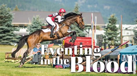Smith Toska canadian tosca smith has eventing in the blood