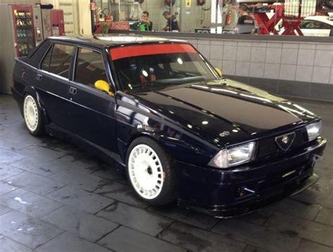alfa romeo race car for sale 1987 alfa romeo 75 autodelta turbo bring a