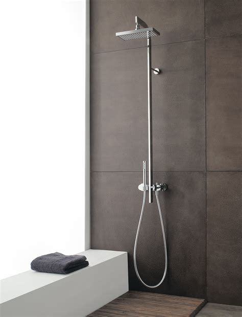 doccino doccia miscelatore per doccia con doccetta e soffione cut