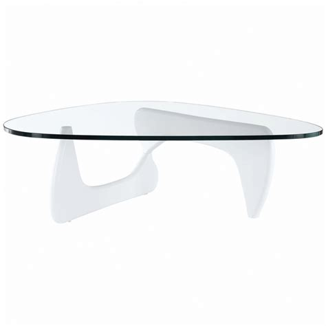 Contemporary White Coffee Table Modern Tribeca Coffee Table White