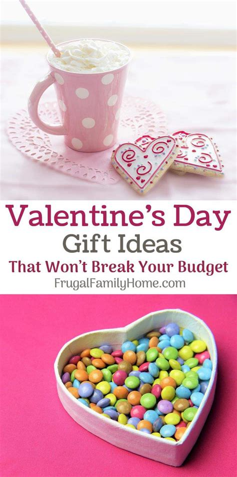 valentines gifts on a budget 5 frugal gift ideas for your