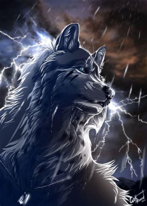 46 wolf art art abyss