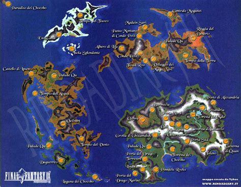 ff9 world map theme rinoa s diary ix worldmap