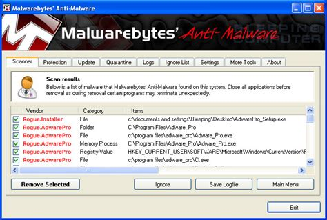 adware cleaner bleeping computer remove adware pro uninstall guide