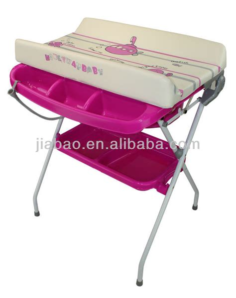 baby standing table baby bathing table with bathtub buy baby changing table