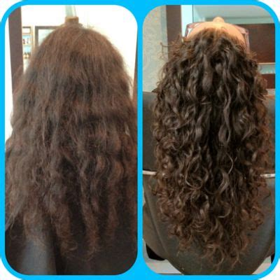 before and after photos of permant waves with frizzy hair permanent waves before and after curly perms i like