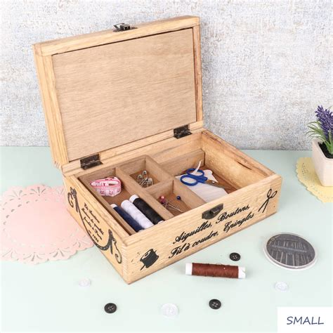 sewing box by dibor notonthehighstreet