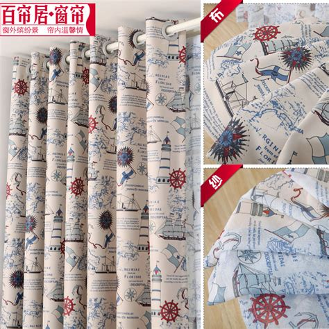 nautical bedroom curtains popular nautical bedroom curtains buy cheap nautical bedroom curtains lots from china