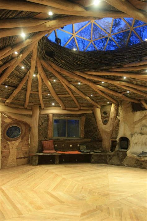 dome home interior design geodesic greenhouse dome atop naturally built spiral roof