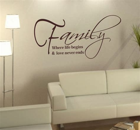wall stickers family quotes family words stickers diy home say quote