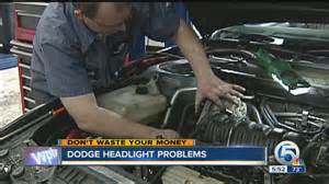 dodge headlight problems youtube