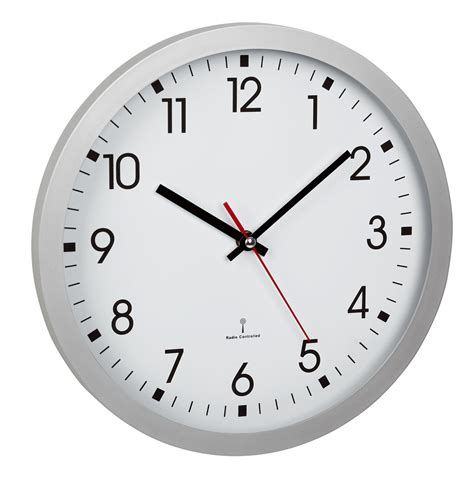 analogue radio controlled clock tfa dostmann