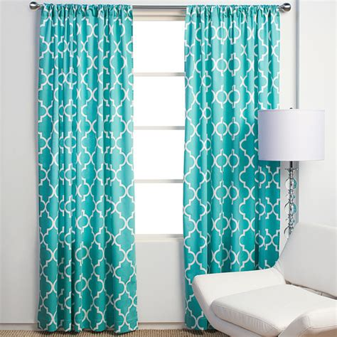 Turquoise And White Curtains Tara Free Interior Design Current Obsession Turquoise