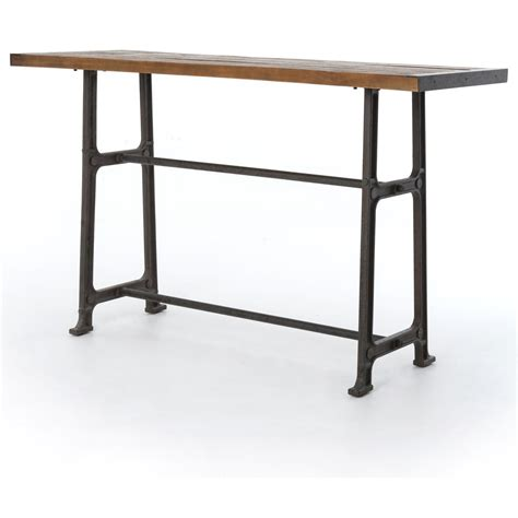 Pub Bar Table Four Durham Alistair Pub Table With Distressed Top Belfort Furniture Pub Tables