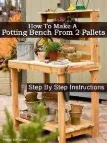 build your own potting bench pallet kitchen loving from beenleigh family day care via