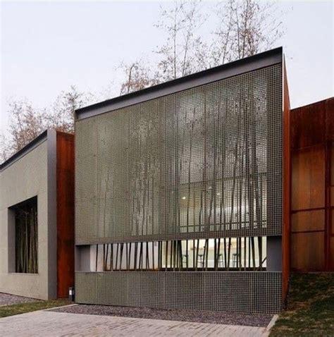 facade secret room metal mesh screen facade repinned by secret design studio melbourne www secretdesignstudio