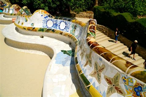 park guell bench barcelona experiencing the magic of gaudi with kids