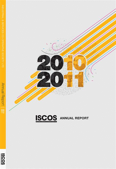 design cover annual report proposed annual report cover on behance