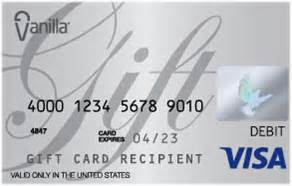 Reload Vanilla Visa Gift Card - human subject vanilla visa gift cards