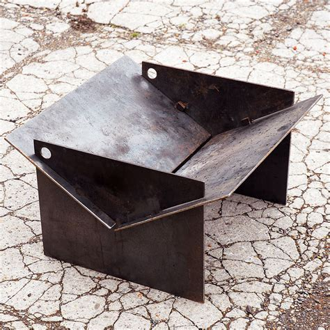Tecton Steel Collapsible Fire Pit By Magma Firepits Metal Firepits