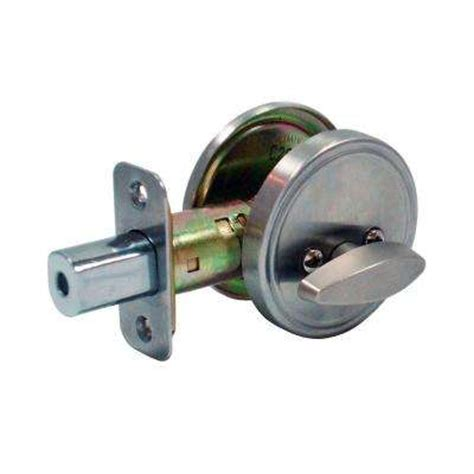 one sided keyless deadbolt deadbolts door locks