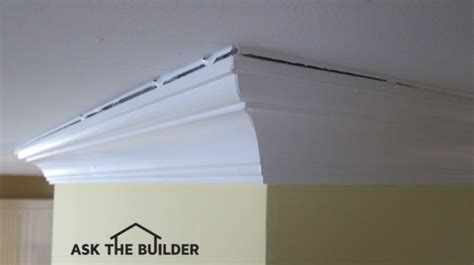 Filling Cracks Between Wall And Ceiling by How To Caulk Ceiling Cracks Ask The Builder