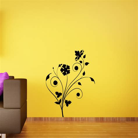 abstract wall stickers floral abstract wall removable wall stickers and wall decals